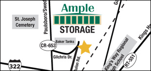Ample Storage Map